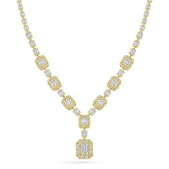 Necklace Shine 18K Gold and Diamonds - Yellow Gold