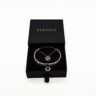 Jericho Rosé Gold Necklace & Bracelet Bundle