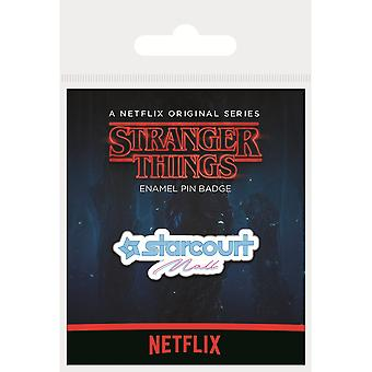 Stranger Things Starcourt Mall Emaille Badge