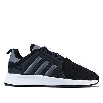 Boy's adidas Originals Infant X PLR Trainers in Black