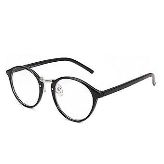 Fashion Glasses Retro Round Frame Clear Lens/women Unisex