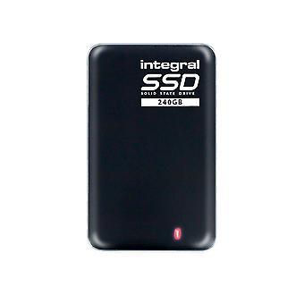Integral 240gb portable ssd drive usb 3.0 external ssd black 240 gb