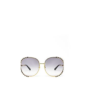 グッチ GG0595S ブラック /ゴールド 女性サングラス