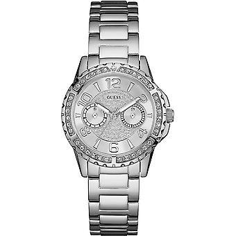 Guess W0705L1 Analog White Dial Damen's Uhr