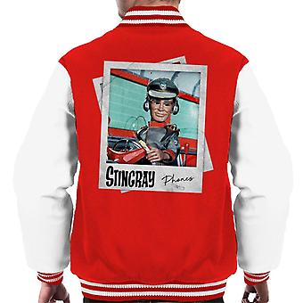Stingray George Phones Sheridan Driving Submarine Men's Varsity Jacket