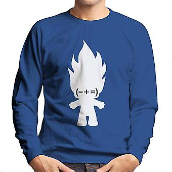 Trolls Minus Plus Equals Men's Sweatshirt