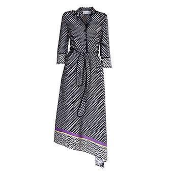 Violanti Via1475500558 Women's Blue Polyester Dress