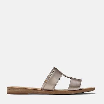 Seacliff sandal rose gold metallic