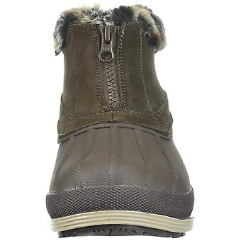 Propét Womens Lumi Leather Closed Toe Ankle Cold Weather Boots
