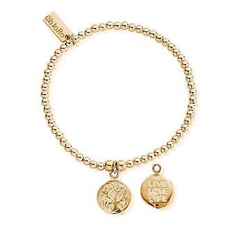 ChloBo Cute Charm Live Love Life Bracelet GBCC213