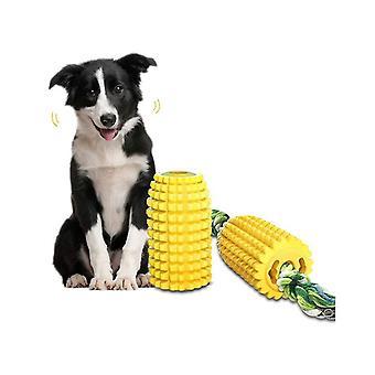 Τα παιχνίδια μασήματος σκυλιών με το φλυτζάνι αναρρόφησης για τα δόντια που καθαρίζουν τα ανθεκτικά καθαρίζοντας παιχνίδια βουρτσισμού κουταβιών μασώντας τα παιχνίδια