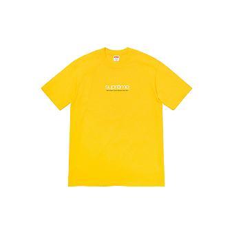 Supreme Five Boroughs Tee Yellow - Clothing