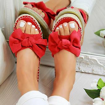 Women Cute Slippers Open Toe  Casual Panther Shoes