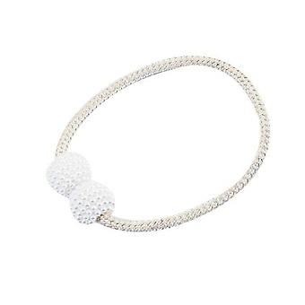Pearl Curtain Magnetic Buckle Strap