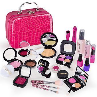 21pcs Pretend Play Simulation Cosmetic Makeup Handbag