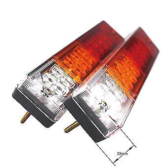 2X 12v 20 LED Stop hinten Rücklicht Anzeige Lampe ute LKW Anhänger Wohnwagen