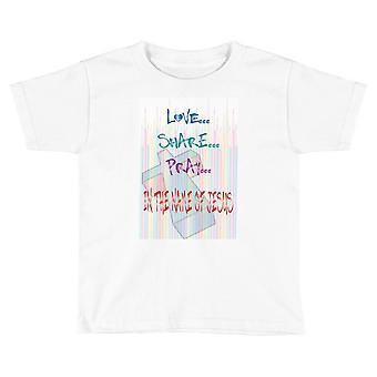 Jesus Pencils Child T-shirt