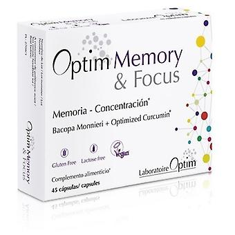 Laboratoire Optim Memory & Focus 45 capsules