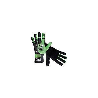 Men's Driving Gloves OMP MY2018 Noir