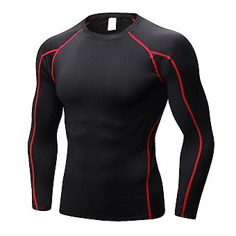 Dry Running T-shirts, Workout Fitness Tights Jerseys