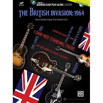 Ultimate Easy Guitar Play-Along: The British Invasion: 1964 - 00-39458 Dvd