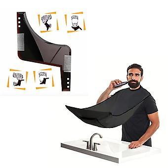 Beard Kit - Apron Shaving & Beard, Beard Comb, Barber Kit/Cape