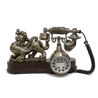 Antique Style Rotary Phone Princess French Style Old Fashioned Handset Telephone Sm-168a