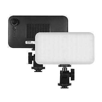 ORDRO Mini LED Lumière vidéo sur la caméra Remplir la lumière
