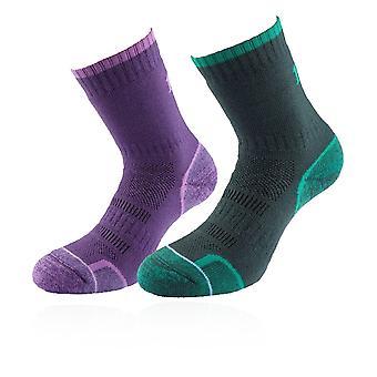 1000 Mile Walk Women's Sock - TWIN PACK - SS21