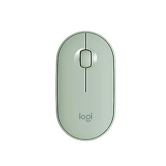 Wireless Bluetooth Mouse cute Portable Mice(green)