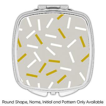 Miroir compact cadeau: Sprinkles Grey