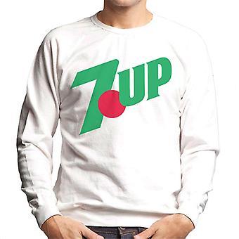 7up 90-talets klassiska logotyp Män & s Sweatshirt