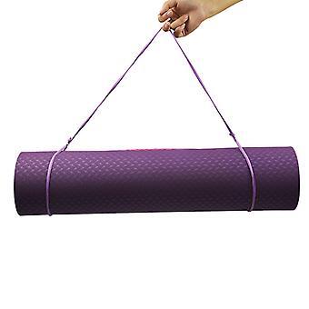 Yoga Mat Carrier Sling, Carrying Strap Blue
