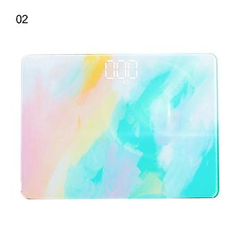 ColorfulBody Floor Scales Glass Smart Electronic Scales