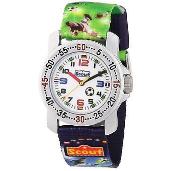 Scout 280376026 - Boy wristwatch, fabric, color: multicolored