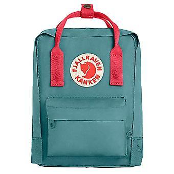 Fjallraven Kanken Casual Backpack, 29 cm, 7 liters, Green (Frost Verde-Peach Pink)