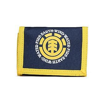 Element Elemental Polyester Wallet in Indigo