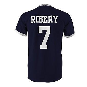 Franck ribery 7 frankrig land ringer t-shirt
