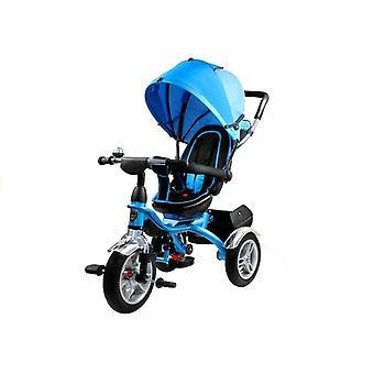 Driewieler kinderwagen multifunctioneel 500 – Zwart Blauw
