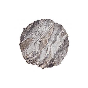 Rug TINE 75313C Rock, stone - modern, irregular shape dark grey / light grey