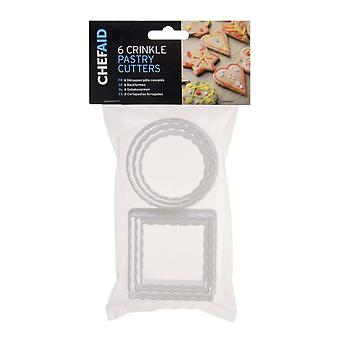 Chef Aid Pastelería Cutters Pack 6