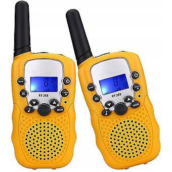 Yellow kids walkie-talkies dt9966