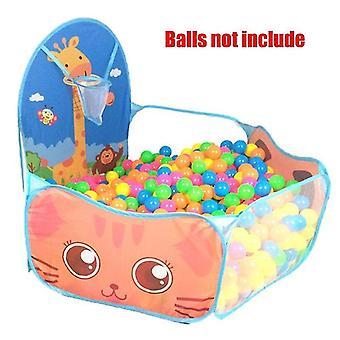 uusi gr0052blue baby playpen leikkikenttä pallo kuoppa kuiva uima-allas koripallo vanne teltta kannettava sm16583