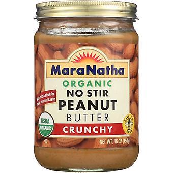 Maranatha Peanut Bttr Nostir Crnchy Org, Case of 6 X 16 Oz