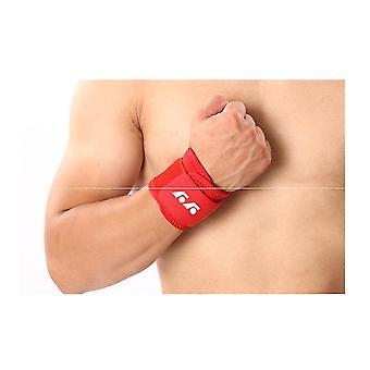 2pcs المعصم ضغط حزام المعصم دعامة المعصم المعصم دعم تخفيف الألم المعصم الحرس (الأحمر)