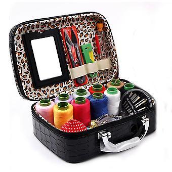 Швейная коробка Установить ручной швейной вышивки инструменты для ручной стеганые швейные нити вышивки