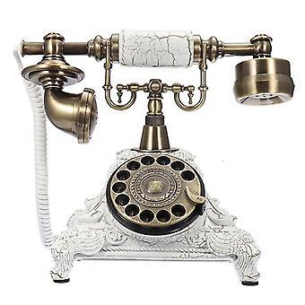 Vintage telefon otočná deska otočný dial starožitné telefony pevné linky telefon pro kancelářský domácí hotel