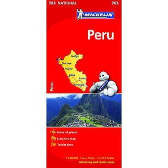 خريطة بيرو ميشلان الوطنية 763