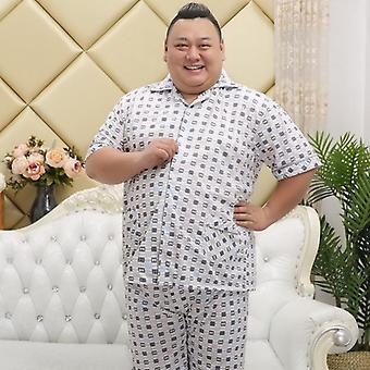 Puuvilla Sleepwear Pajamas, Hombre lyhythihaiset setit miehille