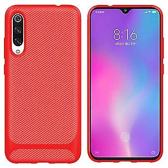 Stoßfeste Soft Shell Hülle für Xiaomi Mi CC9e - Rot